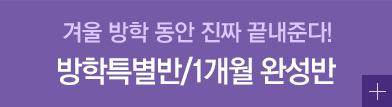 방학 특별반/ 1개월 완성반