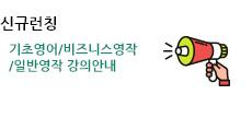 기초영어 / 비즈니스영작 / 일반영작 강의 안내
